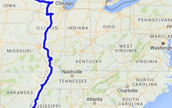 The Great River Road – 1,425 Miles in One Week