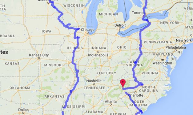 Full Route Recap – 5,133 Miles in 27 Days