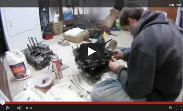 1600cc Engine Rebuild – Clean up Phase